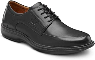 Dr. Comfort Classic Men's Therapeutic Diabetic Extra Depth Dress Shoe Leather Lace