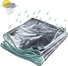 Zeildoek en transparant Loods Doek, zeildoek, Vaarzeildoek, plastic doek, Outdoor Camping Tuin Balkon Rain Curtain Sunscre...
