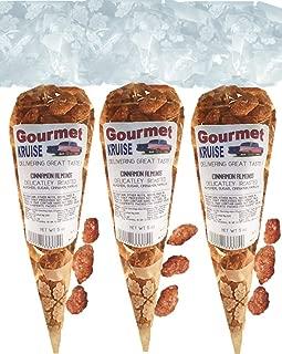 Almonds Cinnamon Roasted (3 Pack) (NET WT 15 OZ) Gourmet Kruise Signature Gift Bags