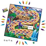 Learning Resources Dino Math Tracks Game, Place Value, Counting,...