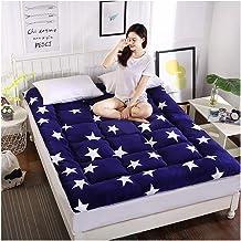 Futon Mattress, Tatami Mattress Student Dormitory Single Double Bed Mattress for Bedroom Sleeping on Floor Mat Rug Mattres...