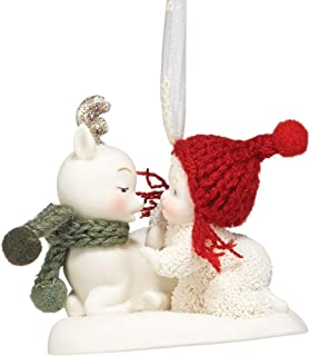 "Department 56 Snowbabies ""Oh Deer"" Porcelain Ornament, 2"""