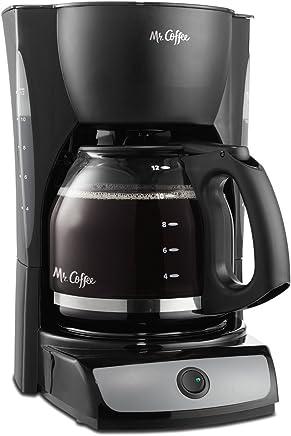 Cafetera eléctrica/té Hervidor de agua Negro Señor de café cg13np 12-cup Jarra de vidrio Reacondicionado (Renewed)