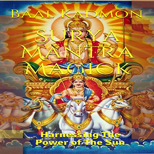 Surya Mantra Magick audiobook cover art