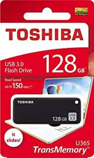 Toshiba USB3.0 Flash Drive 128GB 128G USB 3.0 Flash Disk TransMemory U365 Read 150MB/s Slide (THN-U365K1280A4)