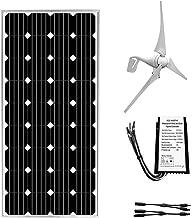 ECO-WORTHY 400 Watt Wind Turbine Generator with 160W Monocrystalline Solar Panel Off Grid Kit for 12 Volt Battery Charging