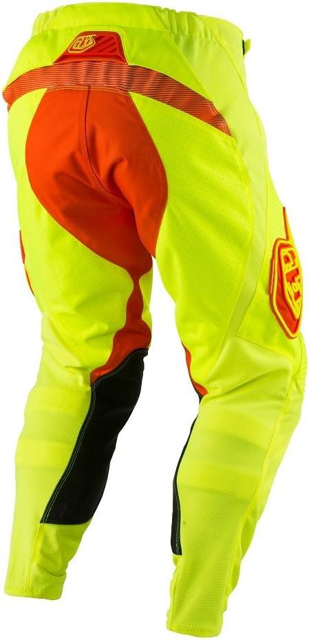 Flo Yellow//Orange 30 Troy Lee Designs SE Air Starburst Mens Dirt Bike Motorcycle Pants