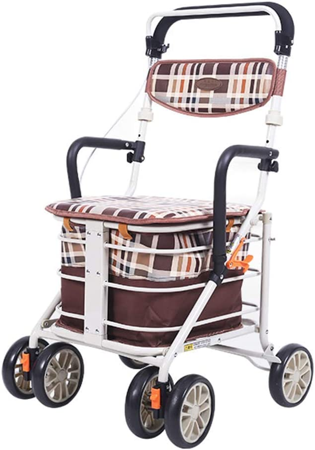 Limited time cheap sale Walkers for Limited price seniors Walking Frame Alloy Aluminum 4 Rollin Wheels
