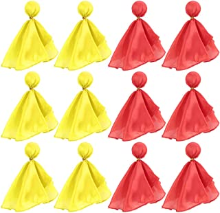 BKpearl 12 Pcs Football Penalty Flag Tossing Flags Sports Fan Set Penalty Flag Party Accessory