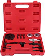 Qiilu Car Auto Air Compressor Clutch Rebuild Removal Tool Kit A/C Clutch Puller Auto Air Conditioning Remover Installer