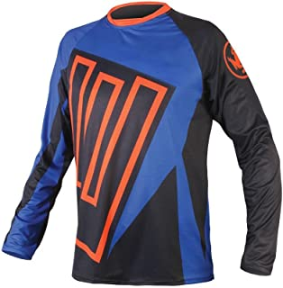 Downhill Jersey Motorbikes Protective Clothing Long Sleeve Winter Fleece Warm Cycling Shirt