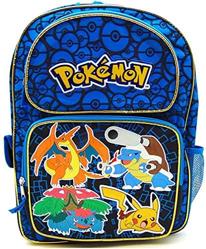 Pokemon Zoofy Full Size Blue 16 Backpack