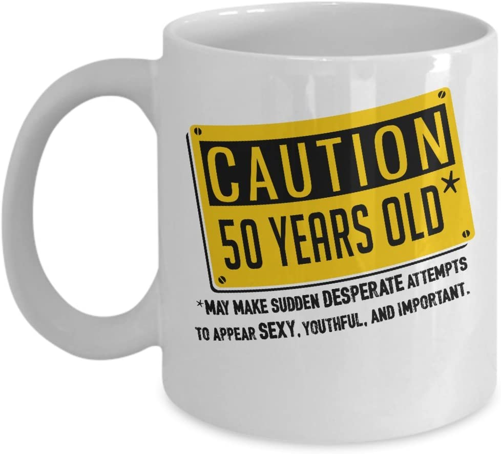 1968 50 Years of Being Awesome Coffee Tea Ceramic Mug Office Work Cup Gift