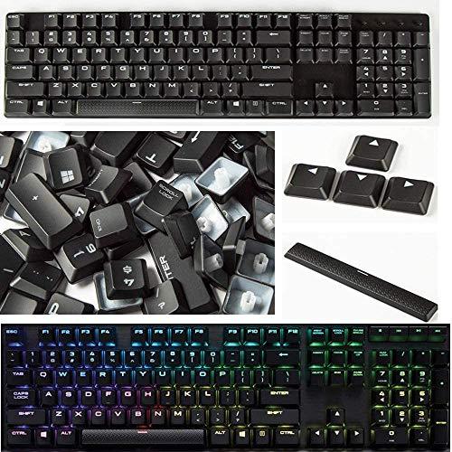 Compatible con las teclas de teclado mecánico delgado Corsair K70 RGB MK.2.