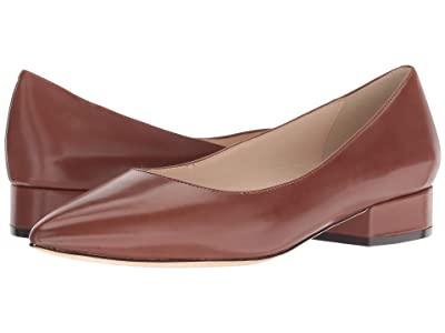 Cole Haan Vesta Skimmer (Cherry Mahogany Leather) Women