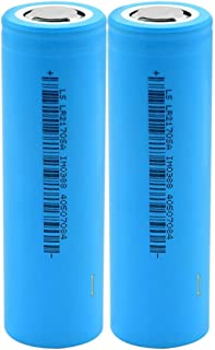 RitzyRose 21700 oplaadbare batterijen, 3,7 V, 5200 mAh, 35 A, lithium-ion-accu, voor zaklamp, 2 stuks