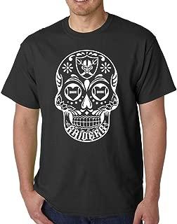 Men's Dia de los muertos (Day of The Dead) Sugar Skull Oakland California T-Shirt