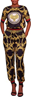 Womens Sexy 2 Piece Outfits Long Sleeve Top Long Pants Joggers Clubwear Tracksuit Set