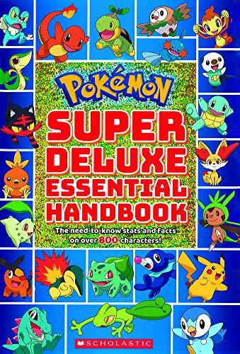 Pokemon Super Deluxe Essential Handbook Library Binding $10.77