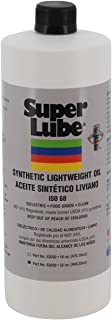 Super Lube 52030 Synthetic Oil without PTFE, Low Viscosity Lightweight, 1 quart Bottle, Translucent