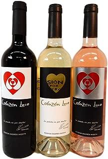 イニエスタ コラソン ロコ 赤 白 ロゼ 3本 ワイン セット
