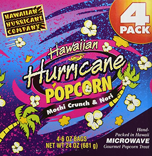 Purchase Hawaiian Hurricane Microwave Popcorn 4 Pack