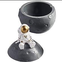 LongRLST Astronaut Asbak, Buiten Binnen Ash Tray, Desktop Roken Ash Tray voor Home Office Decoratie, Ash Houder voor Roker...