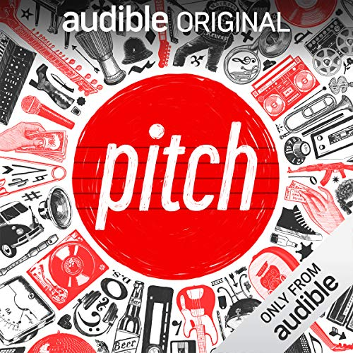 Pitch audiobook cover art