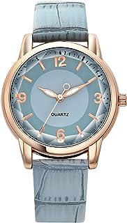 CIVO Relojes para Mujer Reloj de Pulsera de Luminoso Diamante Bling Corte Espejo Relojes Moda Cuarzo Analógicos Diseño Cas...