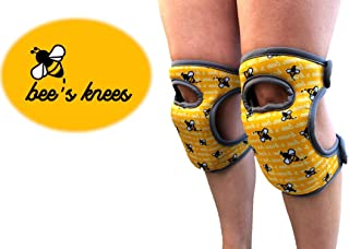Bee's Knees Gardening Knee Pads Back in Stock! with Soft Foam and Adjustable Straps, Durable and Soft Knee Protection. Water-Resistant Cleaning Floors, Working in Garden, Gardening