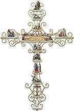Xuecai Adesivo de parede de cruz A Vida de Cristo, coleção personalizada mural, decalque de parede de PVC para igreja, cas...