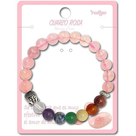 Pulsera de los 7 Chakras Piedras Preciosas Naturales con Buda Pulsera elastica de curación para Mujer y Hombres Unisex para Regalos Cumpleaños
