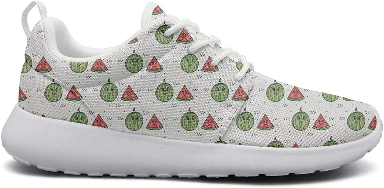 Ipdterty Wear-Resistant Walking Sneaker Cute Watermelon Woman Casual Track Running shoes