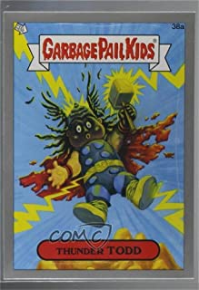 Thunder Todd (Trading Card) 2012 Topps Garbage Pail Kids Brand New Series 1 - [Base] - Silver #38a
