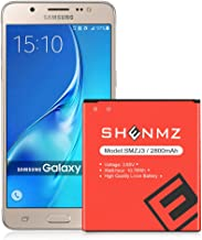 SHENMZ Galaxy J3 Emerge Battery,Galaxy On5 Battery,2800mAh Replacement Battery for Samsung Galaxy J3 J320A J320V J327A EB-BG530BBC EB-BG530BBE EB-BG530BBU | Galaxy Grand AMP Prime SM-G530 Battery