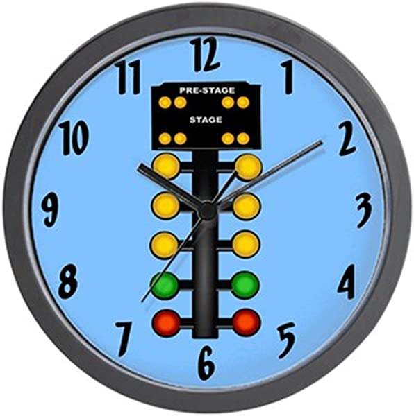 CafePress Christmas Tree Unique Decorative 10 Wall Clock