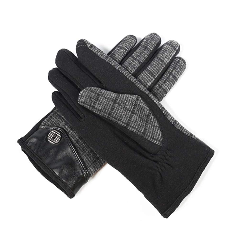 遡る食用私達暖かいメンズサイクリング用手袋を保つための男性用手袋プラスベルベットの秋冬用手袋