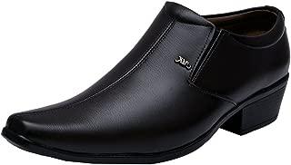 Sir Corbett Men's Synthetic Slip-on Qban Heels