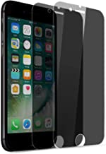Rheshine iPhone 8 Plus 7 Plus Privacy Screen Protector iPhone 8 Plus 7 Plus Anti-Spy Anti-Fingerprint Bubble Free Scratch-Resistant Tempered Glass Screen Protector (2 Pack)