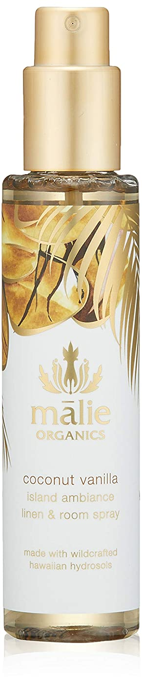 将来の物語凶暴なMalie Organics(マリエオーガニクス) リネン&ルームスプレー ココナッツバニラ 148ml