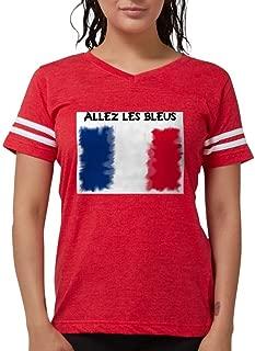 CafePress France World Cup 2010 T Womens Football Shirt