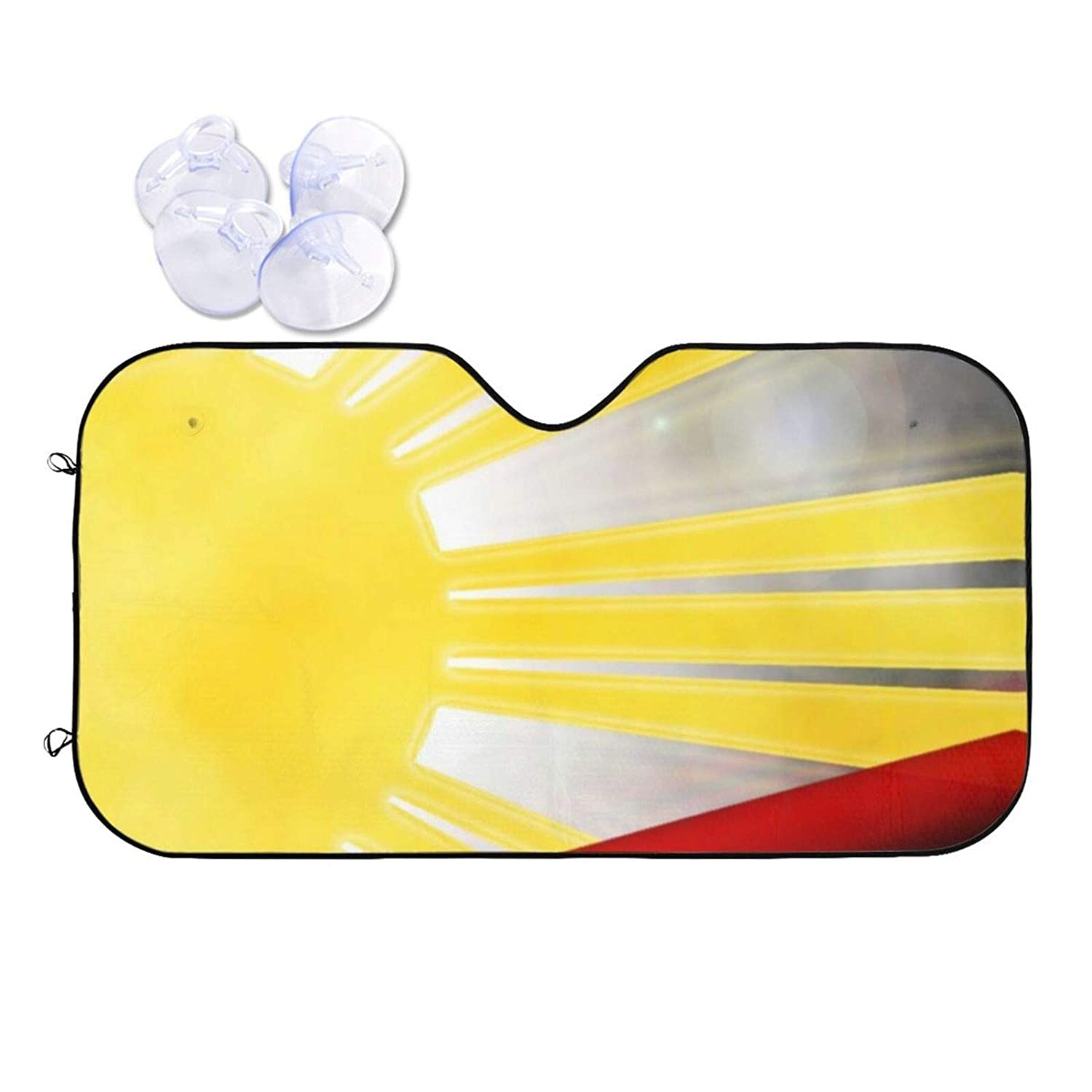 Creative Filipinos Limited Special Price Color Flag Car Front Sun New products, world's highest quality popular! Windshield Shade - B