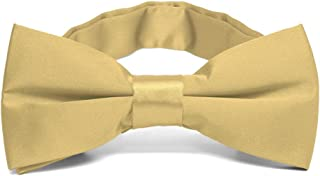 pale gold bow tie