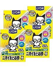【Amazon.co.jp限定】 ニオイをとる砂 猫砂 5.5L×4袋 (ケース販売)