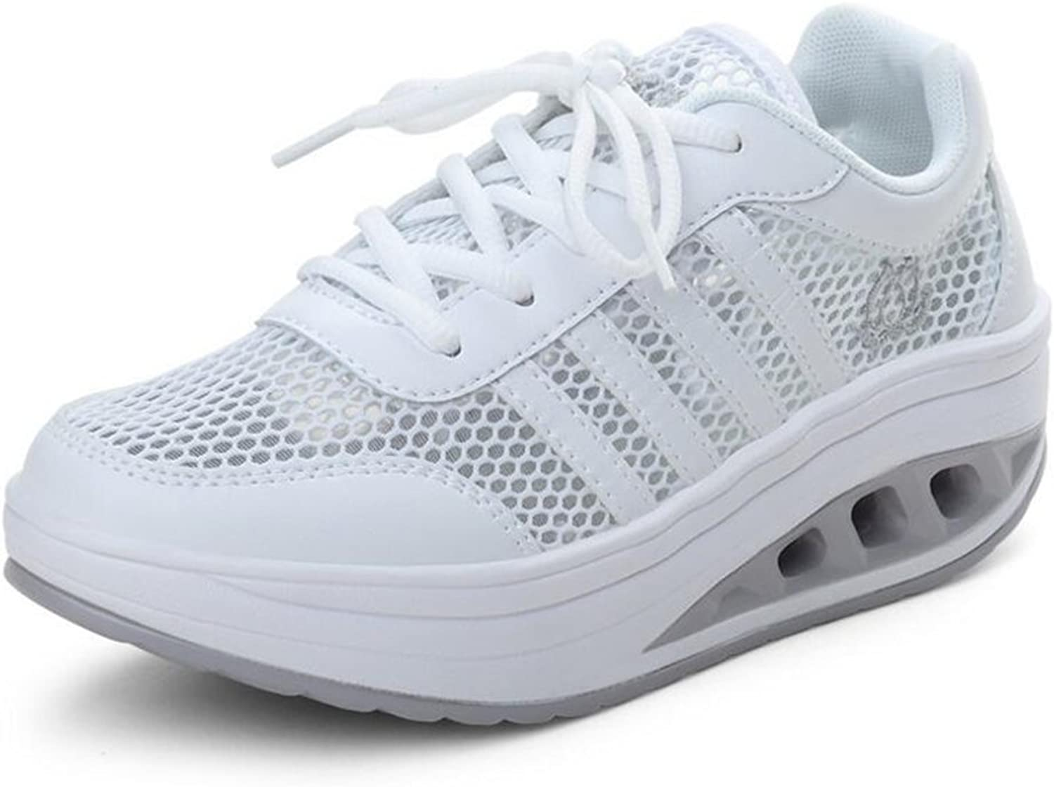Gusha Non-Slip Sneakers mesh Rocking shoes Breathable Women's shoes Running
