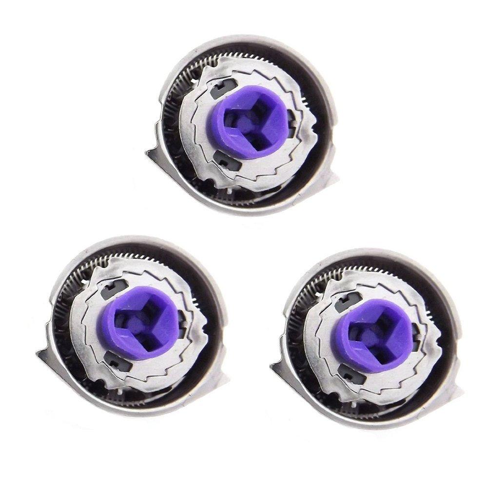 yaokang 3 pcs General de repuesto cabezales de afeitado eectronic accesorios ajuste para Philis Norelco HQ8 máquina de afeitar cuchillas cortador de lámina de (cartucho) y 1 pc cepillo de limpieza: Amazon.es: