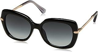 Jimmy Choo Women's Ludi/S 9O Sunglasses, Bk Gdcopper, 53