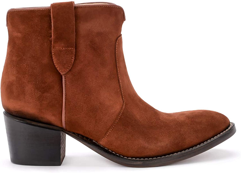 Nej.ME kvinna är Isabel Calf läder Texan Texan Texan Ankle stövlar.Bspringaaa  erbjuder butik