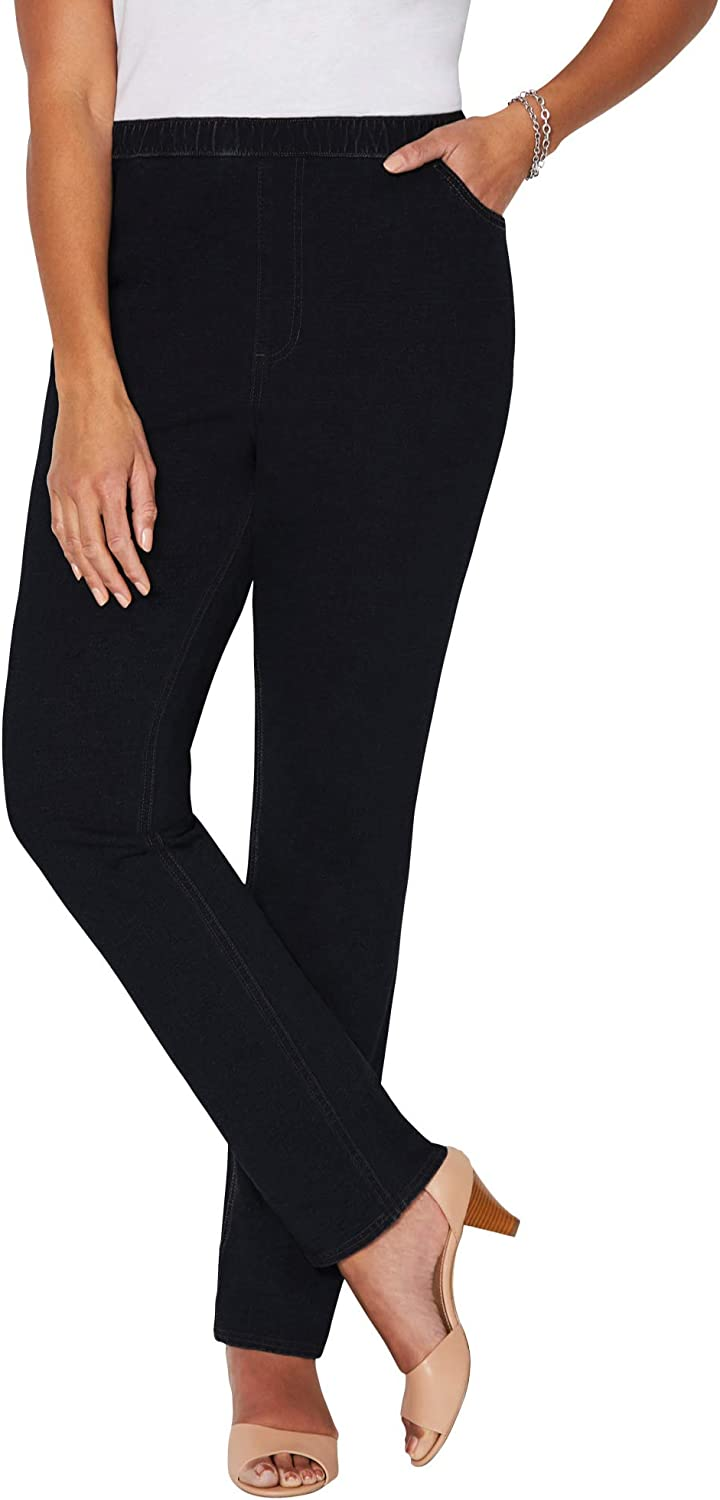 Catherines Women's Plus Size The Knit Jean