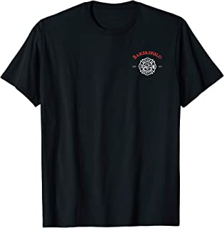 Bakersfield Fire Rescue Department California Firefighter T-Shirt